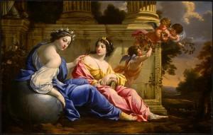 Uranie and Calliope
